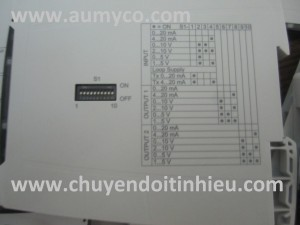 switch chỉnh bộ chia tín hiệu 4-20mA DN21000
