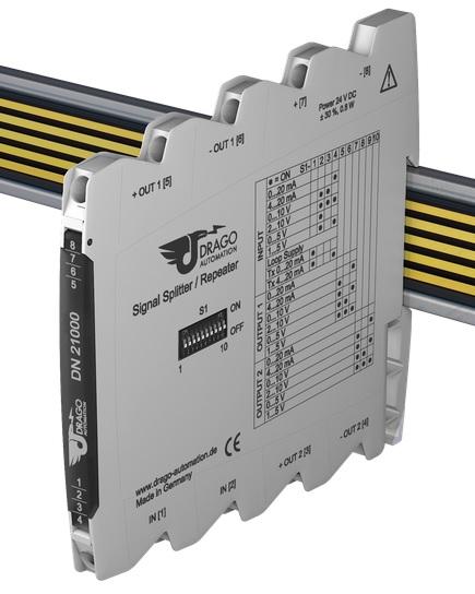 Bộ chia tín hiệu 4-20mA Drago DN21000